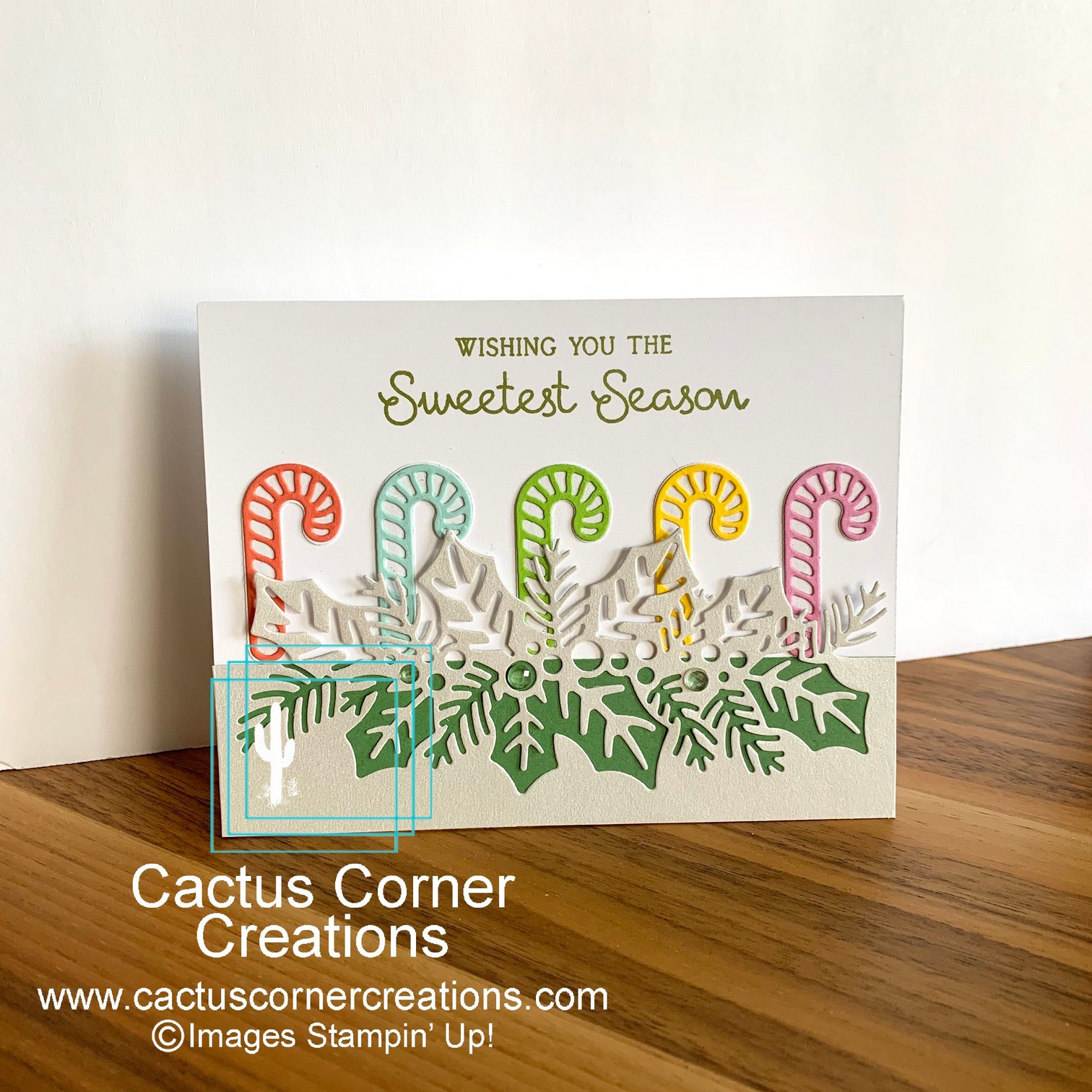 Sweetest Season Colorful Candy Canes