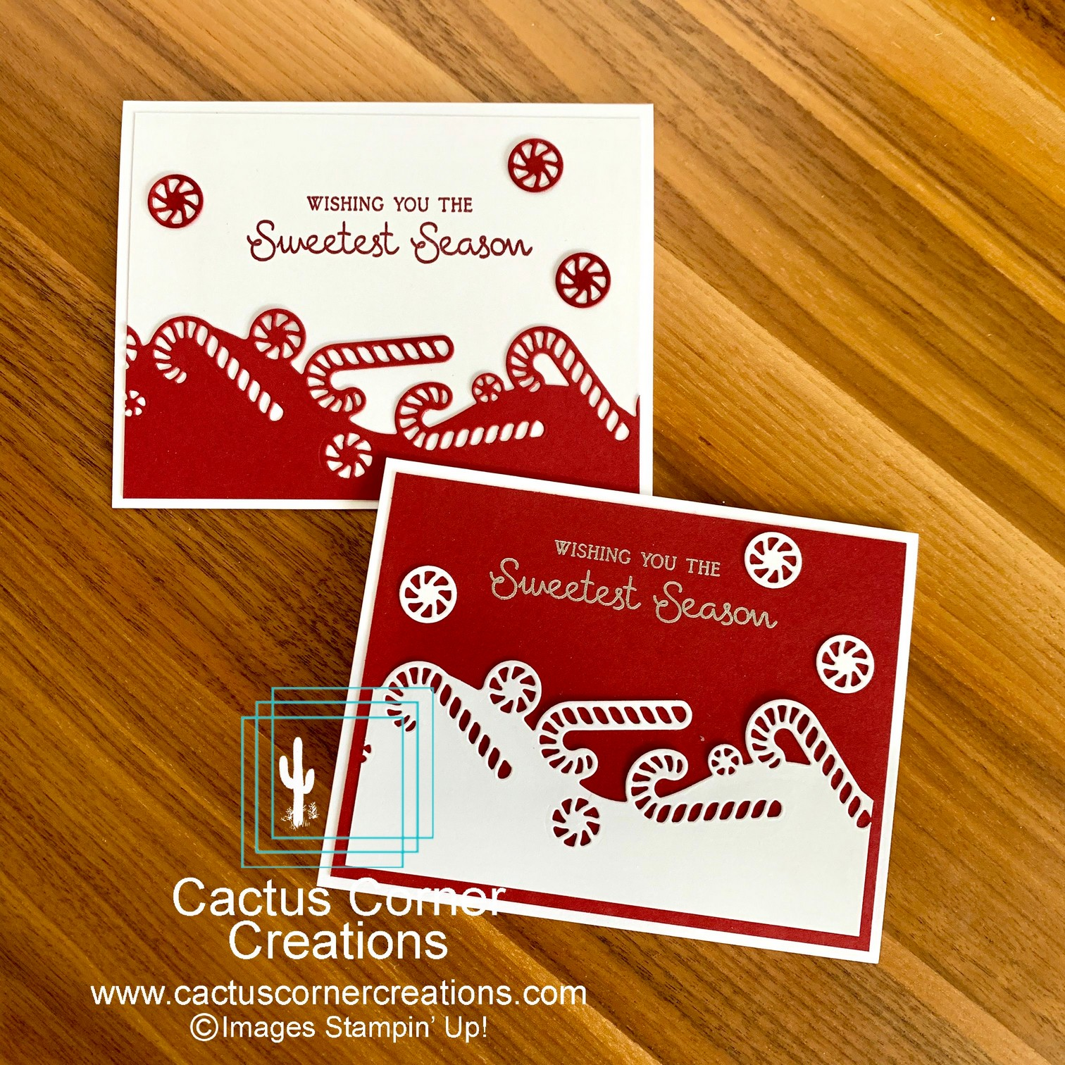 Sweetest Season Christmas Card Two Pak