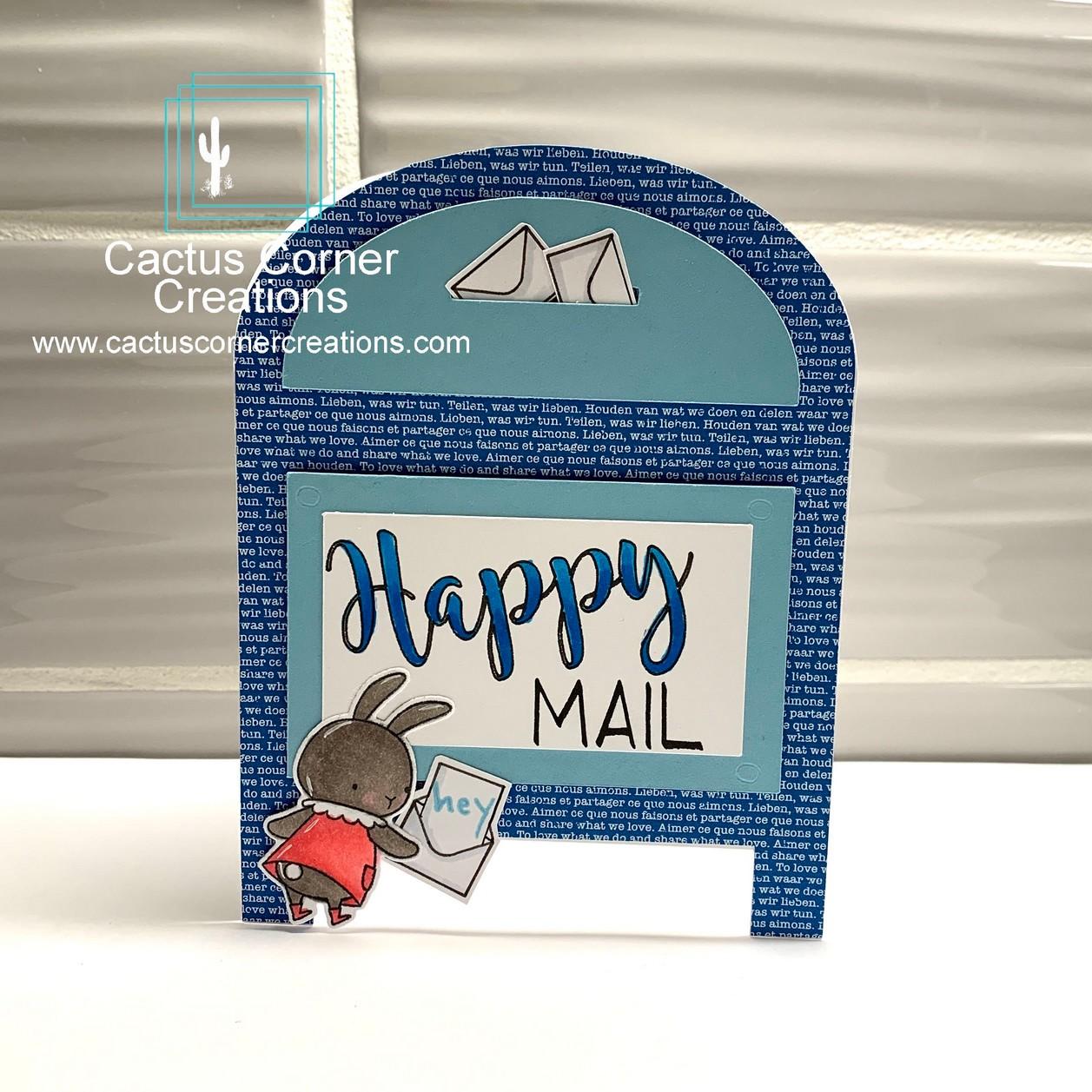Somebunny Happy Mail Birthday